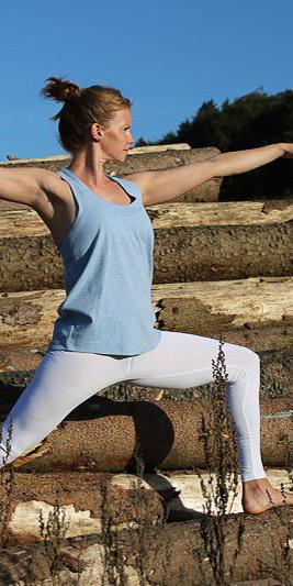 Yoga Leggings weiß