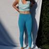 Yoga Legging Blue Moon Bio-Baumwolle