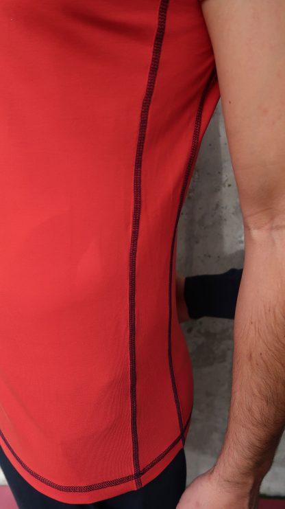 Yoga Herren T-Shirt rot