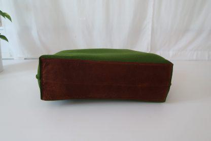 Yoga Tasche aus Wollfilz, Boden aus Leder