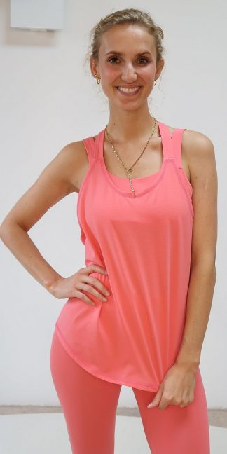 Tank Top blush Bio-Baumwolle