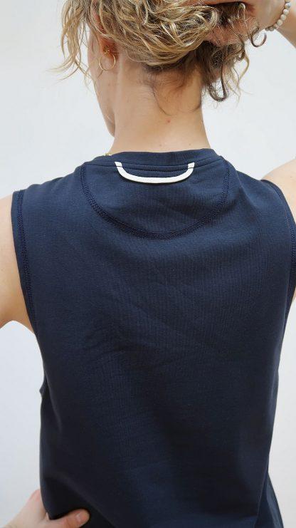 T-Shirt Damen marine Bio-Baumwolle