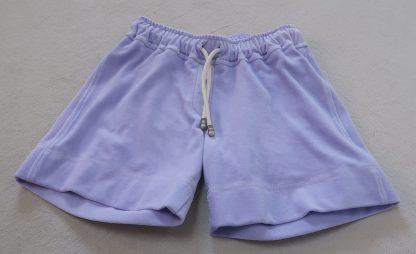 Short lila Bio-Baumwolle