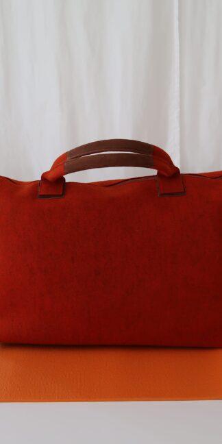 Yoga Tasche aus Wollfilz, rot
