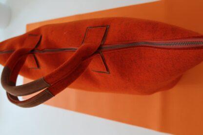 Yoga Tasche aus Wollfilz, rot, von Yogana.World