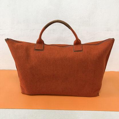 Yoga Tasche aus Design-Wollfilz, rot